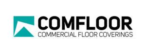 COMFLOOR Logo (Colour On White Background) RGB