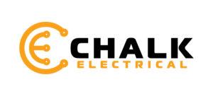 Chalk Electrical Logo (Colour On White Background) RGB