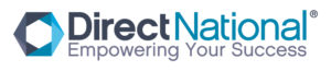 Direct National Logo With Tagline (Colour On White Background) RGB
