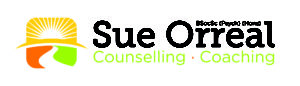 Sue Orreal Logo (On White Background)